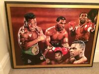Mike Tyson Canvas painting - Print 1/75