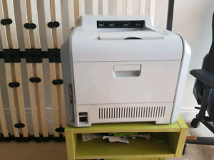 Samsung color laser CLP-510 with toners and drum
