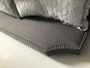 BN King size head/foot + mattress  set