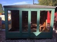 10ft x 8ft Summer House EX DISPLAY
