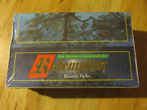REDEMPTION Bible Card Game 95 Vintage CCG TCG Booster Box Jesus