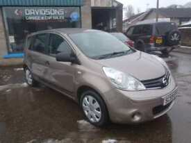 2010Nissan Note 1.5dCi ( 86ps ) Visia £30 road rax