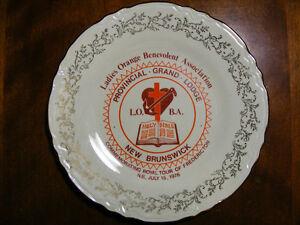 Memorial Plates of New Brunswick - 1976