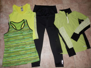 8 sets of active/leisure wear clothing (size  L)
