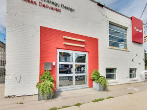 Leslieville Office Loft For Lease