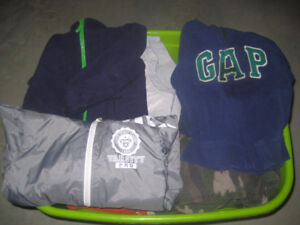 Winter clothes for boy
