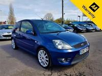 2007 FORD FIESTA 2.0 ST 16V 148 BHP! 67KMILES! HALF LEATHER! PARKING AID!