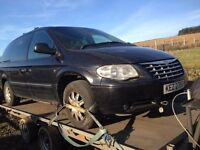 2007 Chrysler grand voyager 2.8 Crd in for breaking