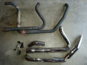 RC COMPONENTS exhaust headers for Harley millwaukee eight bagger