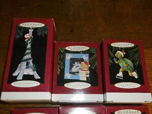 26 Collectible HALLMARK CHRISTMAS ORNAMENTS Belleville Belleville Area image 2
