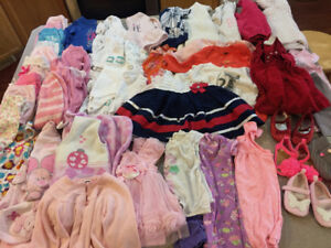 sweet girls 6-12 month clothes