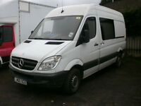 Mercedes-Benz Sprinter 313CDI MWB / SLD With Glass And Seats Diesel Van