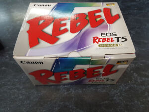 Canon Rebel T5 Camera - 2 Available - Brand New / Used