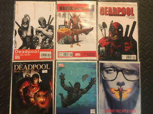 Deadpool Merc with a Mouth Series Lot