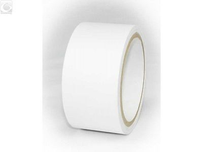 Ripstop Kite Paraglider Sail Repair Nylon Tape Roll in Clear/White 2 in by 25 ft
