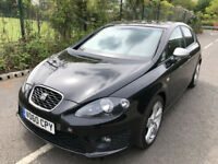 SEAT Leon 2.0 TDI FR DSG Good / Bad Credit Car Finance (black) 2010