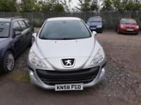 Peugeot 308 1.6 VTi ( 120bhp ) S BREAKING FOR PARTS ALL PARTS AVAILABLE