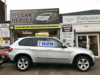 2007 BMW X5 SE 3.0 DIESEL AUTOMATIC 240 BHP 7 SEATER ( AA ) WARRANTY INCLUDED