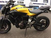Yamaha MT 07, WE BUY BIKES UPTO 15 YEARS OLD FINANCE CLEARED.