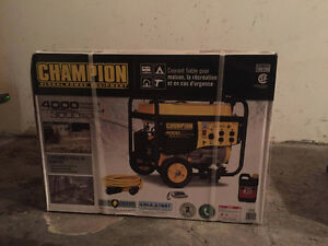 Champion 3000W Generator with Emergency Kit brand new sealed box