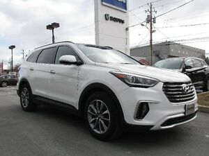 2017 Hyundai SANTA FE Luxury XL 7 Pass  Navi leather sunroof