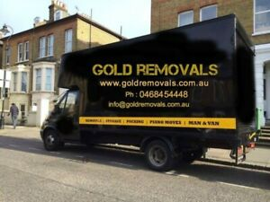 $39.99/PHH TRUCK AND 2 MEN GOLD LOCAL MOVERS REMOVALIST IN TASMANIA
