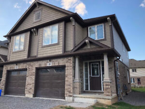 Brand New Semi for Rent - 4 Bedrooms 3.5 Baths