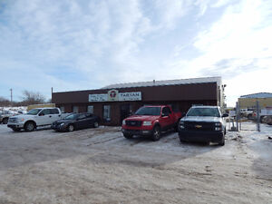 *Reduced* BUILDING W/CRANE & YARD FOR SALE/ LEASE REDWATER