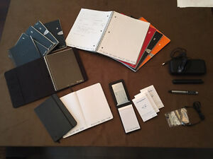 LiveScribe - HUGE PACK of books, Accessories, Pulse 2gb