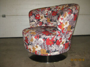 Swivel Lounge Chair For Sale