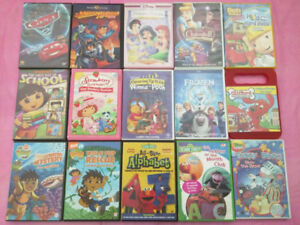 Kids and teens DVDs movies and shows