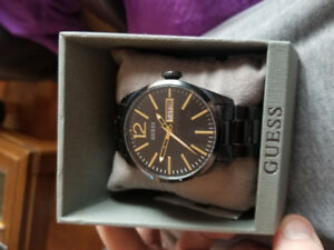 Guess Mens Watch (Black/Gold)