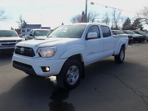 2013 TOYOTA TACOMA DOUBLE CAB SPORT 4X4 !! V6 !! HEATED SEATS !!