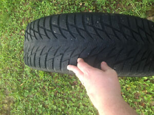 Used winter tires for sale 225/65/17