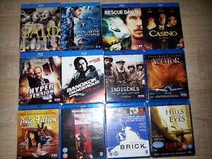 Blu-Ray Steelbook lot IMPORT