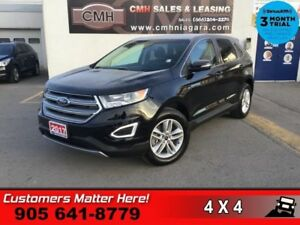 2017 Ford Edge SEL  AWD LEATH NAV PANO-ROOF P/GATE HTD-S/W