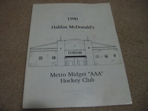 1990 Halifax McDonald's Hockey Club