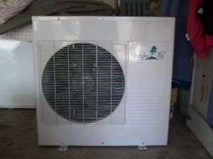 "NEW ""WHISPER THIN"" CENTRAL AIR CONDITIONER"