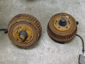 64-67 nova front drum brakes and spindles Kitchener / Waterloo Kitchener Area image 1