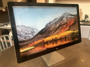 "Apple Thunderbolt A1407 27"" LED Monitor with built-in Speaker"