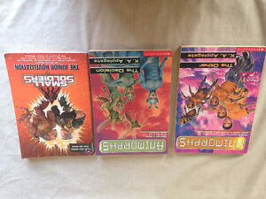 Animorphs and Small Soldiers novels