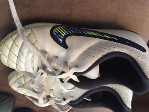 Youth soccer cleat size 3.