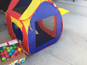 Baby ball tent