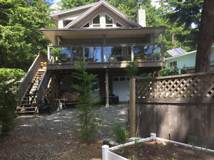 Horne Lake Beach Front Cabin for sale