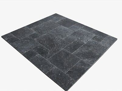 Terrassenplatten Natursteinplatten Kalkstein Black Rustic Wohnrausch