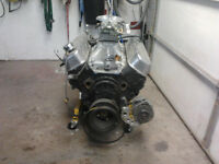 big block motor and tranny