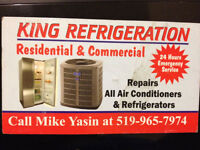 King Refrigeration 24 Hours Emergency Service