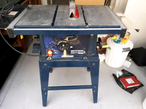 Mastercraft Deluxe Table Saw