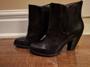 Brand new black frye boots