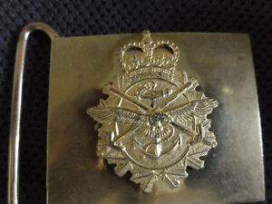 Canadian Forces Ceremonial Web belt and brass buckle